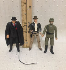 Vintage Lot of 3 Indiana Jones Raiders Of The Lost Arc Kenner 1982 Action Figure