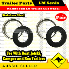 2 x Marine Seal LM Holden Bearing - suit 39mm Round- 40mm Square Axle Trailer