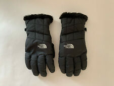The North Face Women's Mossbud Swirl Insulated Glove Sz M Black/rose Gold