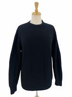 Vintage Holt Renfrew Women's Casual Knit Solid Black Sweater Black Size P/S Rare