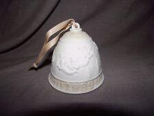 Lladro 1989 Annual Christmas Bell Ornament