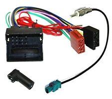 Adaptador con ISO cables enchufes para antena de radio para Citroen y Peugeot