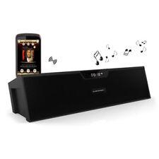Sardine Bluetooth Speakers with FM Radio, Alarm Clock, Built-in Mic, LED Disp...