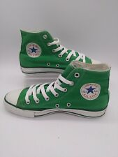CONVERSE ALL STAR Women's Size 8 Men's Size 6 (Barely Used) Amazon Green