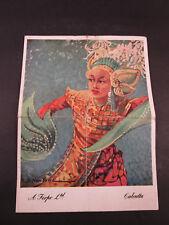 A Firpo Ltd Menu Calcutta Sunday, 22 April 1945 D Newsome Cover Art