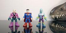 Fischer Price DC Comics Imaginext Superman Super Hero Squad Brainiac lex Luther