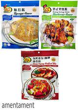 Malaysia Chef King Nyonya / Hong Kong Style Barbecue / Asam/Curry Seafood Mix