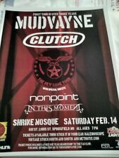 Mudvayne w/ Clutch, Nonpoint, In This Moment * Rare Concert Flyer Mini Poster *