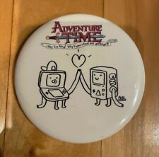 E3 2012 Adventure Time Hey Ice King Steal Our Garbage DS Game Promo Pin Button