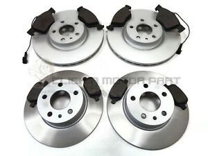 ALFA ROMEO 147 JTD & TWIN SPARK 01-09 FRONT & REAR BRAKE DISCS & PADS CHECK SIZE