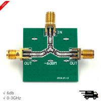0-3GHz Power Divider RF Power Splitter Combiner Board 1-Way Input to 2-Way Out