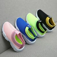 Children Kids Baby Boys Girls Mesh Mixed Colors Sport Run Sneakers Casual Shoes