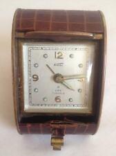 KOHLER 8 Days 7 Jewels Desk Clock Germany U.S. Zone for Parts/Repair