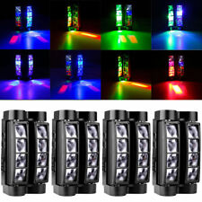 4PCS8x10W RGBW LED Spider DJ Disco Xmas Party Light Beam Moving Head Stage Light