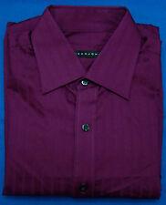 Sean John Rosewood Stripe Regular Fit Long Sleeve Dress Shirt - 15 - 32-33