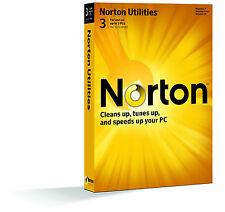 Genuine Symantec Norton Utilities 15.0 3 PCs/Users 15 for 3PC Actual CD