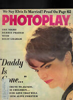 Photoplay Magazine Jackie Kennedy Elvis Presley Billy Graham  February 1964