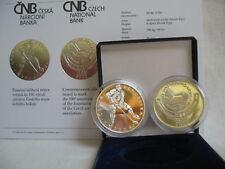 La república checa 2008 200 coronas moneda de plata coin pp proof-hockey sobre hielo -