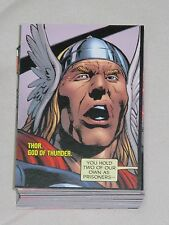 UD 2011 Marvel Avengers Kree-Skrull War - Lot of Various Cards of Story 1