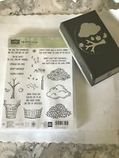 STAMPIN' UP!  Sprinkle of Life Bundle  Brand new Stamps + Tree Builder Punch