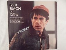 "PAUL SIMON ""LATE IN THE EVENING"" PICTURE SLEEVE! BRAND NEW! ONLY NEW COPY eBAY!"