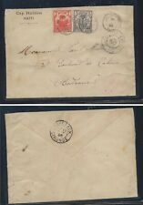 Haiti  nice cover   1896  early  stamps