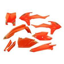 FITS: KTM 125 150 250 SX SX-F XC XC-F Cycra Powerflow Plastic Body Kit Orange