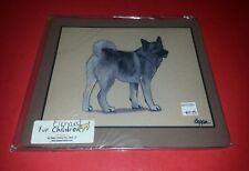 Fur Children Zeppa Studios Norwegian Elkhound Dog Mouse Pad New