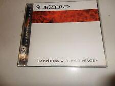 CD  Subzero - Happiness Without Peace