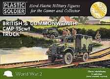 15MM BRITISH CMP 15 CWT TRUCKS - PLASTIC SOLDIER COMPANY - WW2-