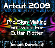 Artcut Software Vinyl Cutter Plotter 2009 Pro Sign Making - download