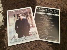 GEORGE MICHAEL- UK TOUR 2012- CONCERT FLYERS X 2