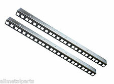 8U Rack Strips Zinc Plated sold in pairs 24mm x 19mm 1.5mm