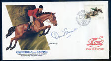 1988 Olympics cover signed David Broome (2018/10/03#03)