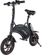 Windgoo Folding E Bike 360W motor Electric Scooter Bicycle Black