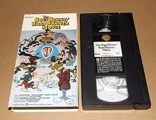 The Bugs Bunny Road Runner Movie VHS Looney Tunes Daffy Duck Wile E. Coyote