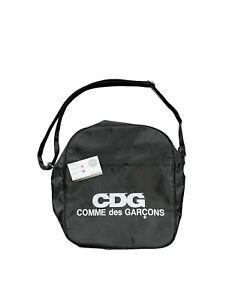 CDG COMME DES GARÇONS BLACK STRAP ZIP BAG