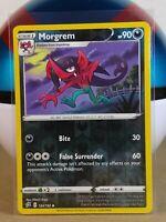 Morgrem  124/192 S&S: Rebel Clash  Reverse Holo  Mint/NM Pokemon