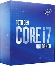 Intel Core i7-10700K Desktop-Prozessor 8 Kerne bis zu 5,1 GHz Unlocked LGA1200 (