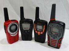 Lot or 4 Cobra Walkie Talkies Cxt385 Cxt545 Acxt360