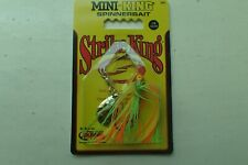 USA Import Strike King small ul Mini-King Spinnerbait 4x colours just 3.5g