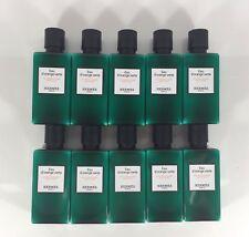 13.5oz Hermes d'Orange Verte Body Lotion (10 - 1.35 Ounce Bottles) FREE BONUS!