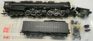 RIVAROSSI R5454 ALLEGHENY STEAM ENGINE NEEDS REPAIRS, SEE PICTURES  DCC ready