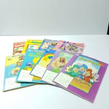 Disney Coloring Books Chip Dale Barbie Lisa Frank Alvin Flintstones VTG LOT OF 9