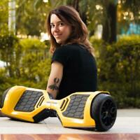 "Lamborghini 6.5"" Smart Electric Hover Scooter Bluetooth Speaker UL Certified APP"