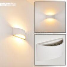 Gips Wand Lampen bemalbare Wohn Schlaf Zimmer Leuchten Flur Dielen Beleuchtung