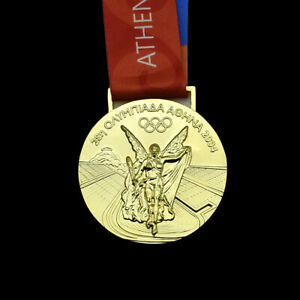2004 Athens Olympic Games Champions Gold Medal Craft Souvenir for Collection