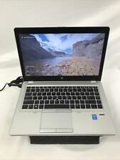 HP Elitebook Folio 9480m Core i5-4210U @1.7GHz 222GB SSD, 8GB RAM Windows 10 Pro