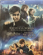 Jk Rowlings Wizarding World 9-Film Collection Harry Potter Fantastic Blu-Ray New