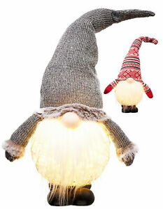 Lutins Gnome de Noël Figurine Décoration Nain Lutin Gnome Advent